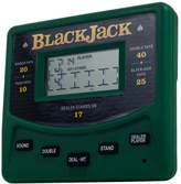 Trademark Games Electronic Handheld Las Vegas Style Blackjack Game