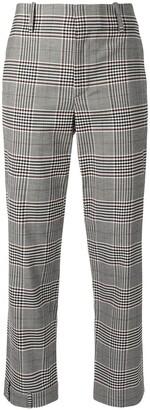 Monse Plaid Straight-Leg Trousers