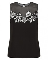Jaeger Lace Panel Top