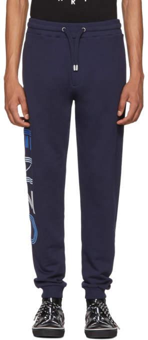 Kenzo Navy Sport Jog Lounge Pants
