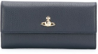 Vivienne Westwood Logo Plaque Billfold Wallet