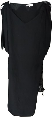 Surface to Air Black Silk Dress for Women