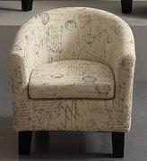 Millbury Home Florinio Arm Club Chair, Contemporary Accent