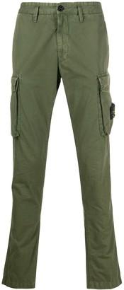 Stone Island Slim Fit Cargo Trousers