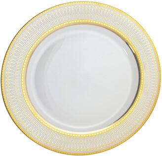 Ten Strawberry Street Set Of 6 Iriana Gold Bread & Butter Plates