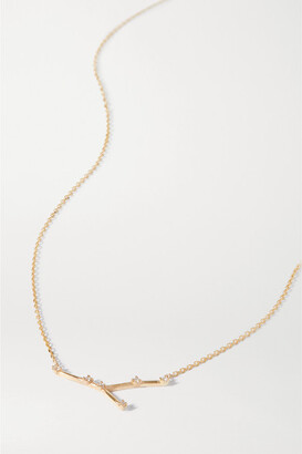 Sebastian Celestial Cancer 10-karat Gold Diamond Necklace
