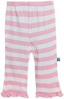 Kickee Pants Print Ruffle Pants (Baby) - Baby Stripe-18-24M
