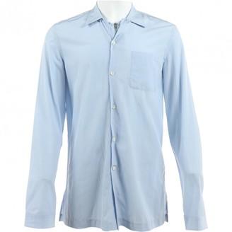 Maison Margiela Blue Synthetic Shirts