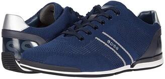 HUGO BOSS Saturn Sneakers (Dark Blue) Men's Shoes