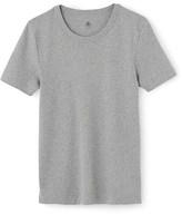 Petit Bateau Mens plain cotton T-shirt