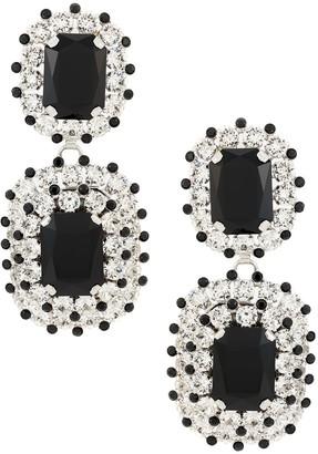 Dolce & Gabbana Rhinestone Drop Earrings