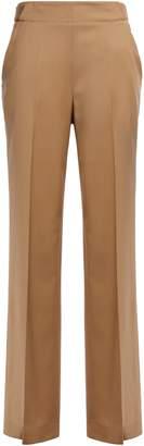 Equipment Wool-twill Wide-leg Pants