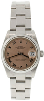 Rolex Vintage Stainless Steel Datejust Watch, 31mm
