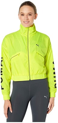 Puma Chase Woven Jacket (Pink Alert) Women's Coat