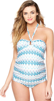 A Pea in the Pod Hardware Detail Maternity Tankini Swimsuit