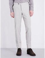 Thom Sweeney Regular-fit Wool Trousers