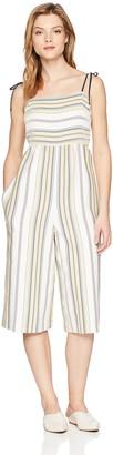 BCBGeneration Women's TIE Shoulder Culotte Jumpsuit