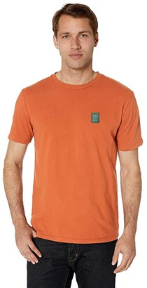 Topo Designs Label Tee (Clay) T Shirt