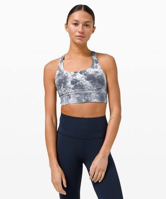 Lululemon Energy Bra Long Line Tie Dye *Medium Support, B/C Cup