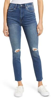 Pistola Denim Cara High Waist Ripped Skinny Jeans