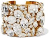 Stella McCartney Gold-plated crystal cuff