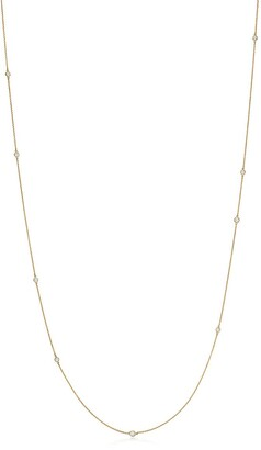Tiffany & Co. Elsa Peretti Diamonds by the Yard sprinkle necklace in 18k gold