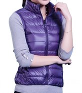 HengJia Women's Packable Down Vest Puffer Vest Lightweight Down Winter Vest Large