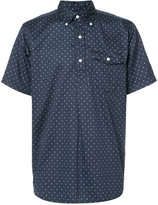 Engineered Garments polka dot short sleeve shirt - men - Cotton - M