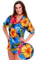 V.H.O Funky Hawaiian Blouse, Big Flower