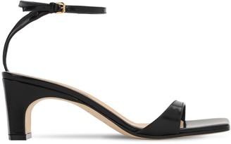 Sergio Rossi 60mm Leather Sandals