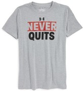 Under Armour Boy's Never Quits T-Shirt