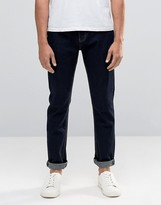 Bellfield Slim Fit Jeans in Indigo Denim