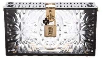 Dolce & Gabbana Embellished Box Clutch