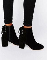 Asos RENI Suede Ankle Boots