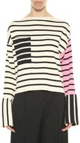 Celine Striped Knitted Pul