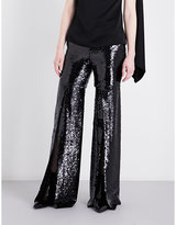 Osman Andrea flared sequinned trousers