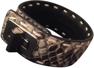 Prada Grey Python Bracelets
