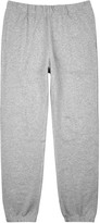 Sunspel Grey Mélange Jersey Jogging Trousers