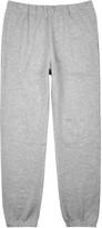 Sunspel Grey Mélange Jersey Jogging Trousers