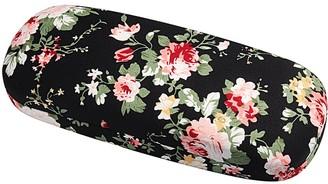 Molshine Fabrics Floral Retro Light Portable Eyeglasses Glasses Case for Reading Glasses (E)(Size: M)