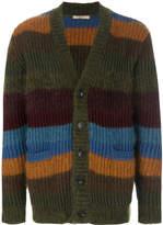 Nuur striped V-neck cardigan