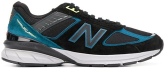 New Balance 990 Logo Embroidered Sneakers