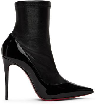 Christian Louboutin Black Nappa Bibooty Ankle 100 Boots