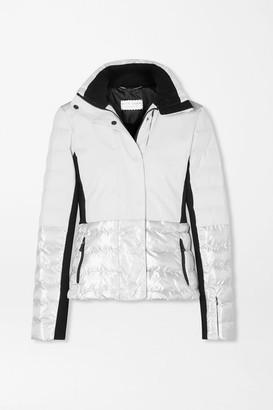 Erin Snow Sari Metallic Quilted Ski Jacket