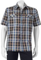Croft & Barrow Men's Classic-Fit Plaid Outdoor Performance Button-Down Shirt