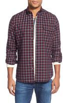 Nordstrom Men&s Shop Regular Fit Check Sport Shirt (Big)