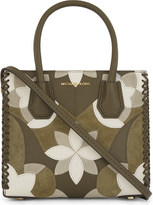 MICHAEL Michael Kors Mercer floral patchwork medium leather shoulder bag