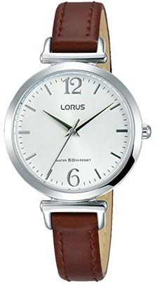 Lorus Women's Analogue Quartz Watch with Leather Strap RG229NX9