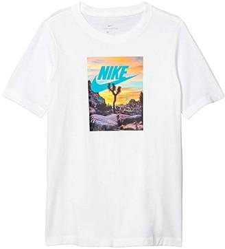 Nike Kids NSW Air Photo Tee (Little Kids/Big Kids) (Dark Grey Heather) Boy's T Shirt