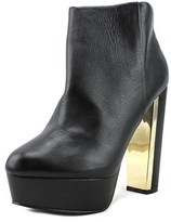 Aldo Girlan Open Toe Leather Platform Heel.